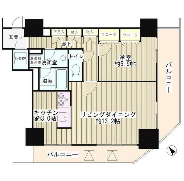 トレステージ目黒203号室