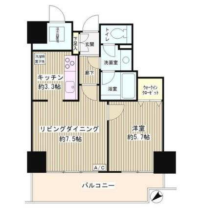 トレステージ目黒206号室