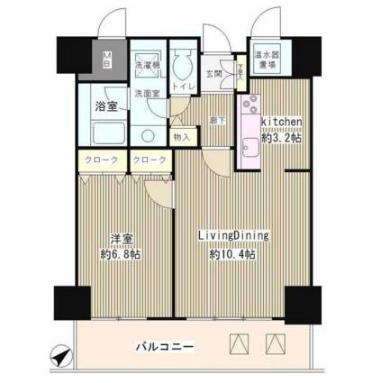 トレステージ目黒302号室