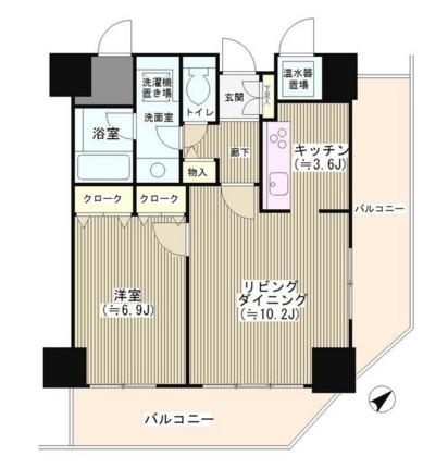 トレステージ目黒401号室