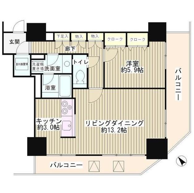 トレステージ目黒403号室