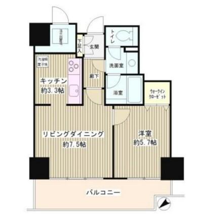 トレステージ目黒406号室