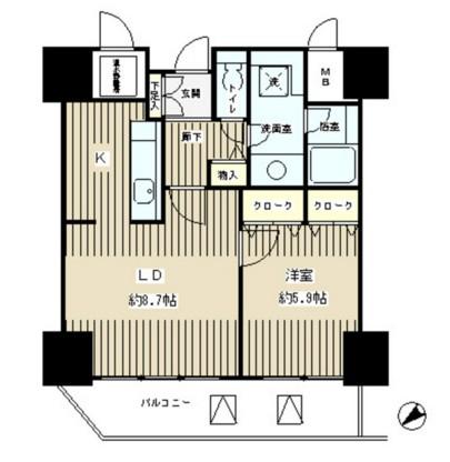 トレステージ目黒407号室