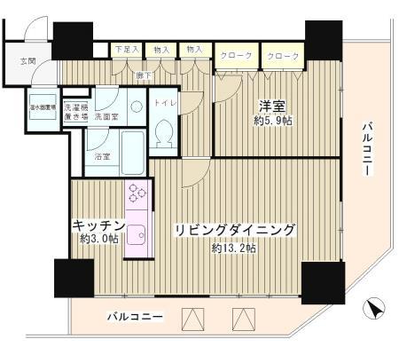 トレステージ目黒503号室