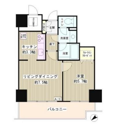 トレステージ目黒506号室