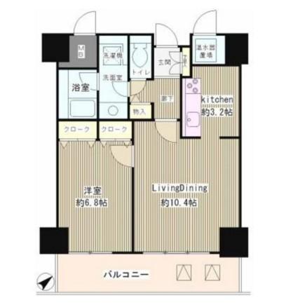 トレステージ目黒602号室