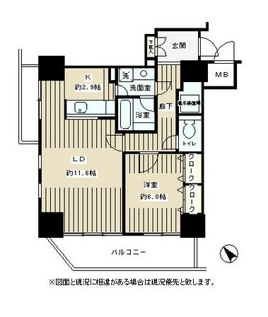 トレステージ目黒805号室