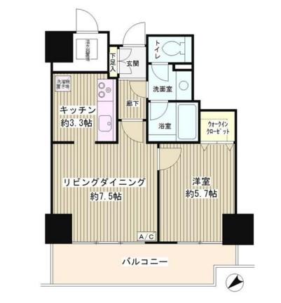 トレステージ目黒806号室