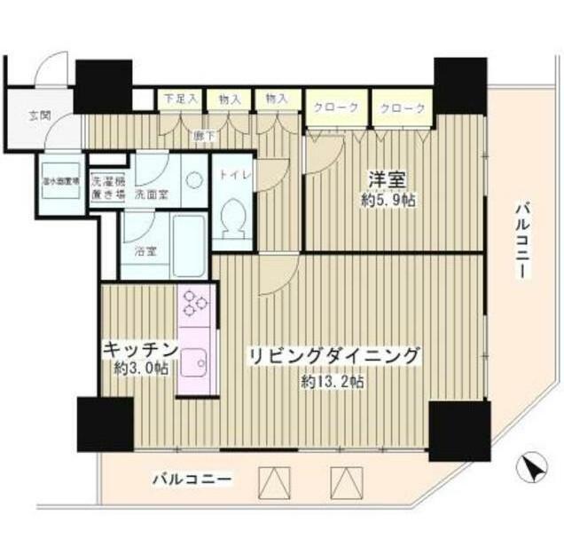 トレステージ目黒903号室