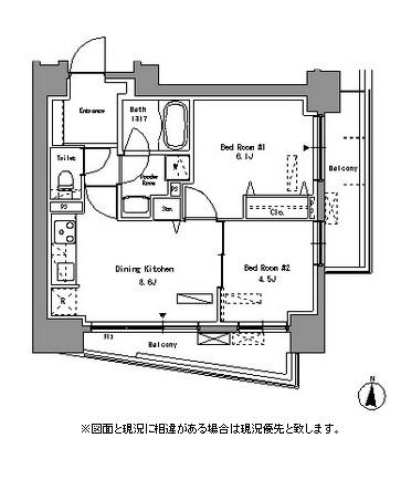 パークアクシス錦糸町1005号室