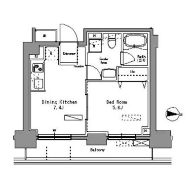 パークアクシス錦糸町204号室