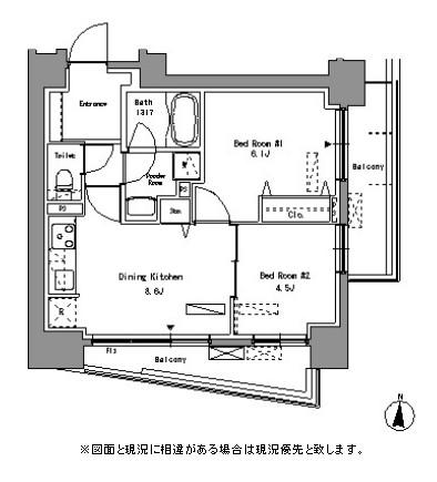 パークアクシス錦糸町305号室
