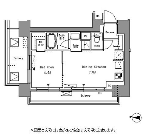 パークアクシス錦糸町401号室