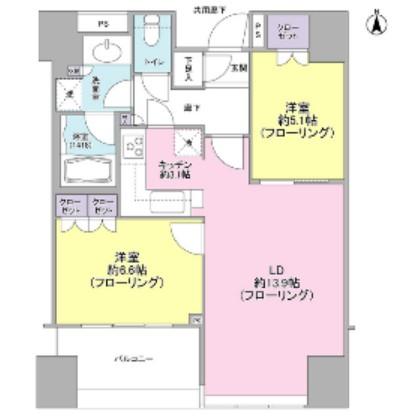 パークタワー錦糸町505号室