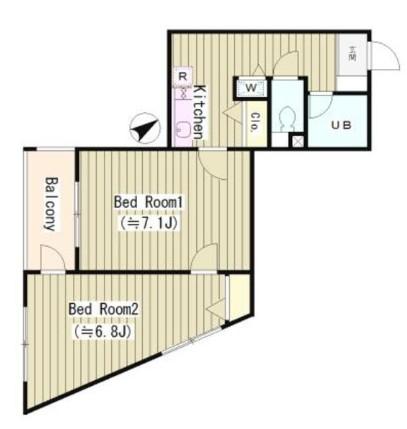 ラルゴ西早稲田502号室