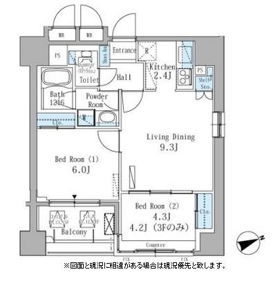 パークアクシス駒込303号室