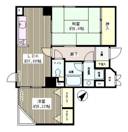 マハール駒込303号室