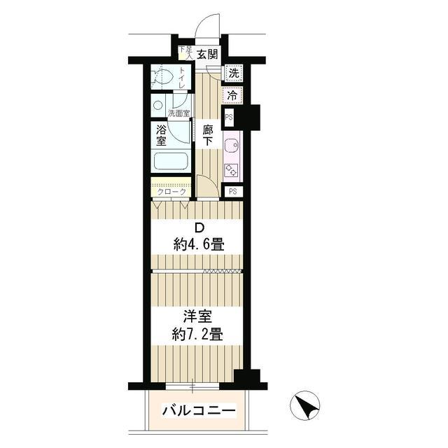 エステージ六義園104号室