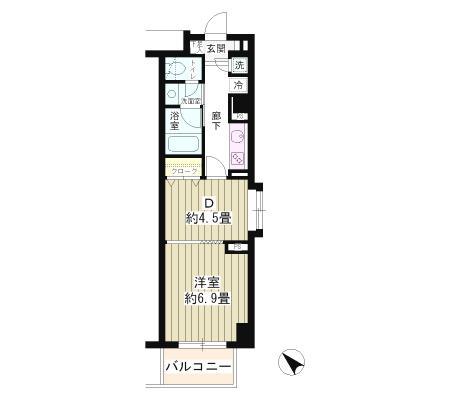 エステージ六義園208号室