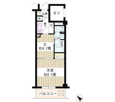 エステージ六義園302号室