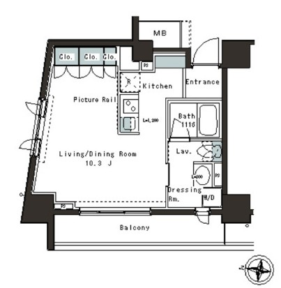 パークアクシス本郷の杜1001号室