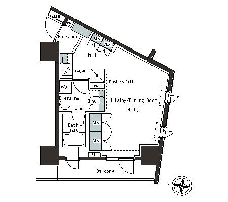 パークアクシス本郷の杜203号室