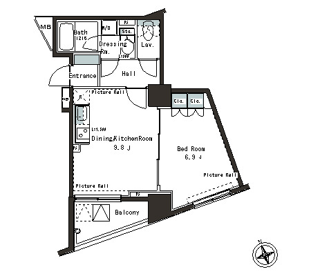 パークアクシス本郷の杜304号室