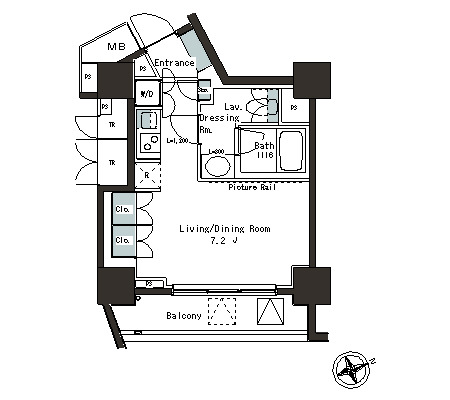 パークアクシス本郷の杜406号室