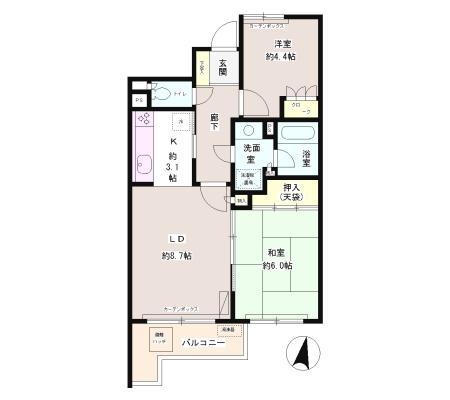 白山パーク・ホームズ502号室