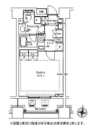 パークアクシス御茶ノ水ステージ1012号室