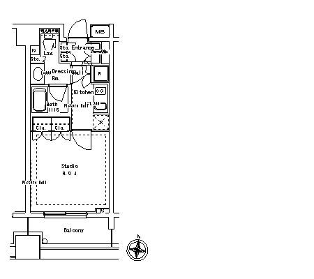 パークアクシス御茶ノ水ステージ1108号室