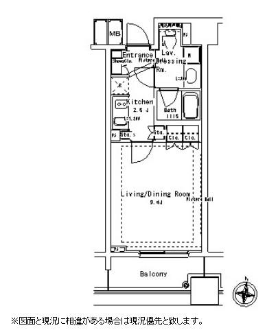 パークアクシス御茶ノ水ステージ1303号室