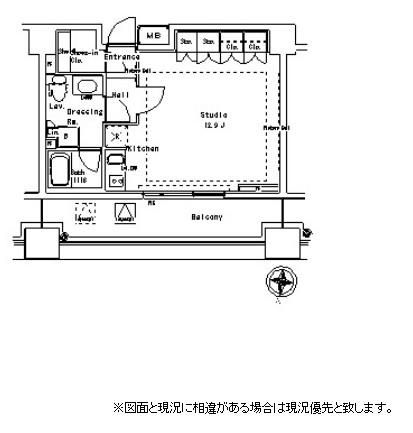 パークアクシス御茶ノ水ステージ1323号室