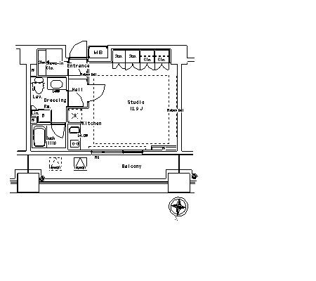 パークアクシス御茶ノ水ステージ1423号室