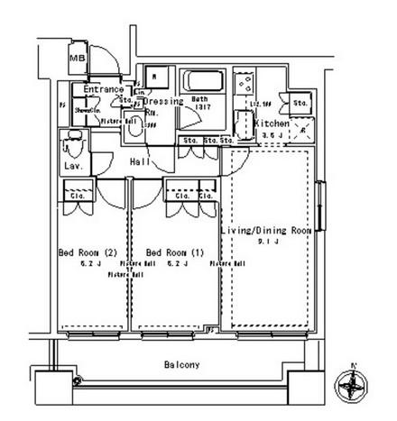 パークアクシス御茶ノ水ステージ614号室