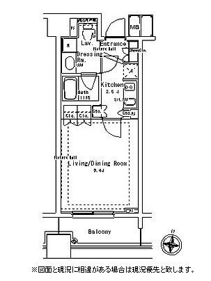 パークアクシス御茶ノ水ステージ802号室