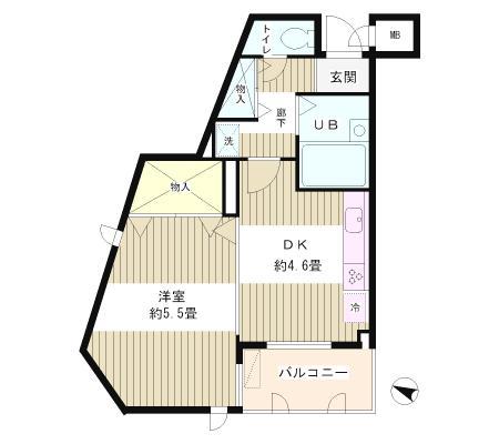 目白台ガーデン101号室