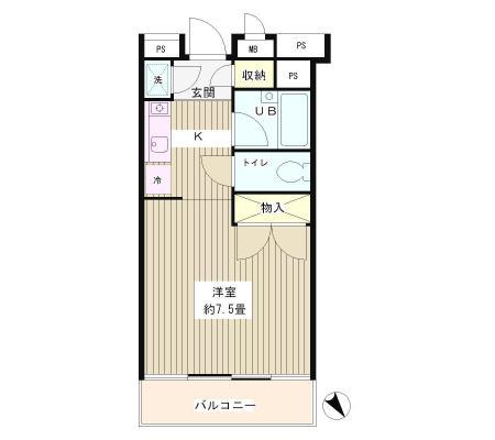 グリーン江戸川橋202号室