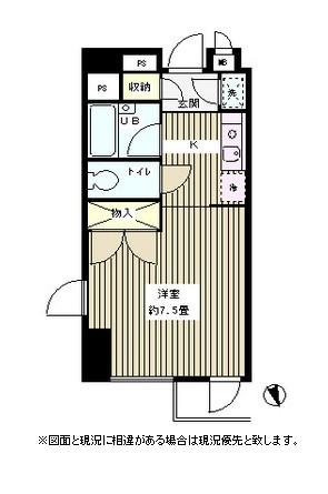 グリーン江戸川橋603号室
