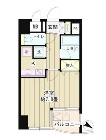 シュロスK・Y北品川202号室