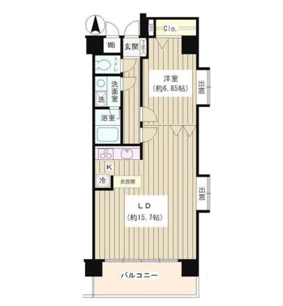 コアシティ中野坂上403号室