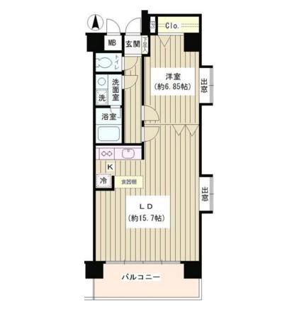 コアシティ中野坂上603号室