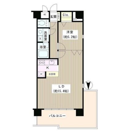 コアシティ中野坂上801号室
