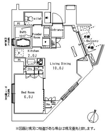 パークアクシス方南町703号室