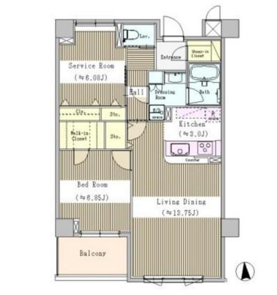 プラムコート東中野102号室