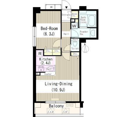 クラッサ中野504号室