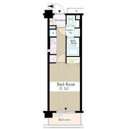 クラッサ中野606号室