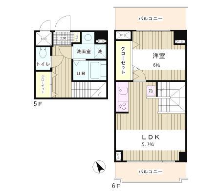 ラフィネ築地506号室