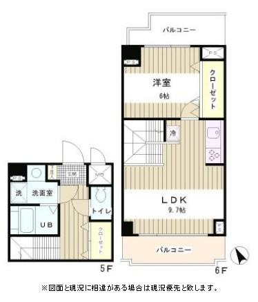 ラフィネ築地507号室