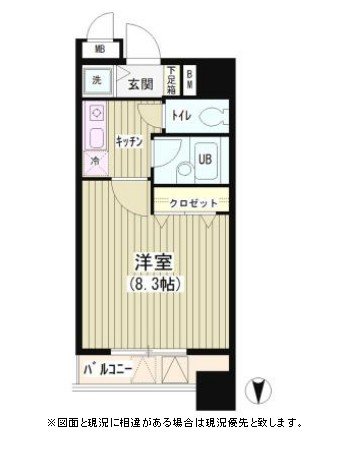 アクアコート302号室